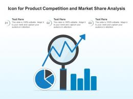 Icon For Product Competition And Market Share Analysis