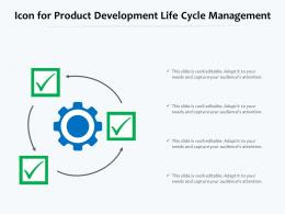 Icon For Product Development Life Cycle Management