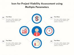 Icon For Project Viability Assessment Using Multiple Parameters