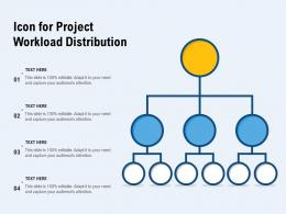 Icon For Project Workload Distribution
