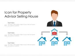Icon For Property Advisor Selling House