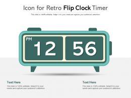 Icon For Retro Flip Clock Timer