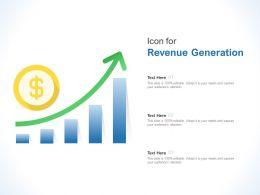 Icon For Revenue Generation