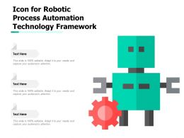 Icon For Robotic Process Automation Technology Framework