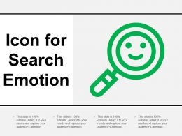 Icon For Search Emotion