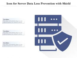 Icon For Server Data Loss Prevention With Shield