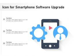 Icon For Smartphone Software Upgrade