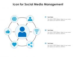 Icon For Social Media Management