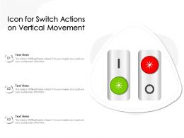 Icon For Switch Actions On Vertical Movement