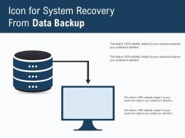 Icon For System Recovery From Data Backup