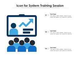 Icon For System Training Session