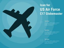 Icon For US Air Force C17 Globemaster