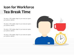Icon For Workforce Tea Break Time