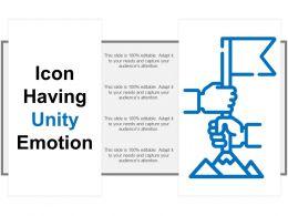Icon Having Unity Emotion
