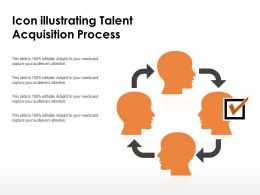 Icon Illustrating Talent Acquisition Process