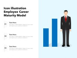 Icon Illustration Employee Career Maturity Model