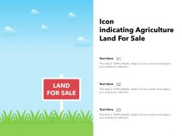 Icon Indicating Agriculture Land For Sale