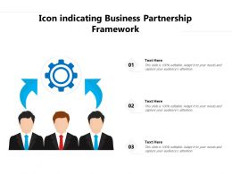 Icon Indicating Business Partnership Framework