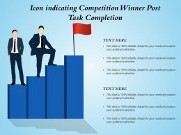 Icon Indicating Competition Winner Post Task Completion