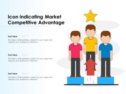 Icon Indicating Market Competitive Advantage