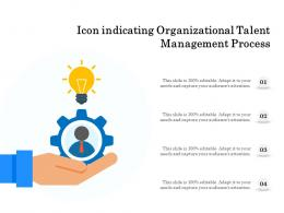 Icon Indicating Organizational Talent Management Process
