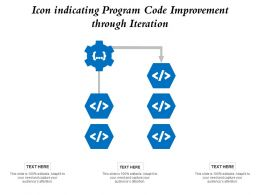 Icon Indicating Program Code Improvement Through Iteration