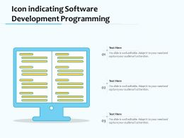 Icon Indicating Software Development Programming
