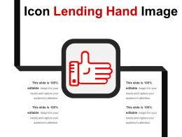 Icon Lending Hand Image