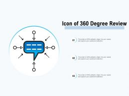 Icon Of 360 Degree Review