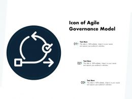 Icon Of Agile Governance Model