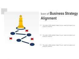 Icon Of Business Strategy Alignment