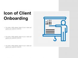 Icon Of Client Onboarding