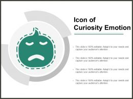 Icon Of Curiosity Emotion