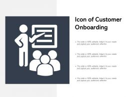 Icon Of Customer Onboarding