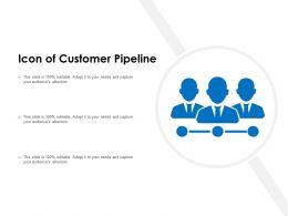 Icon Of Customer Pipeline