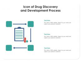 Icon Of Drug Discovery And Development Process