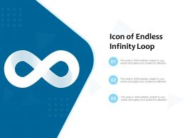 Icon Of Endless Infinity Loop