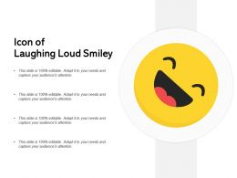 Icon Of Laughing Loud Smiley