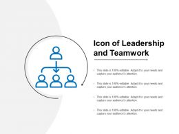 Icon Of Leadership And Teamwork