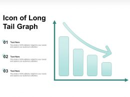 Icon Of Long Tail Graph