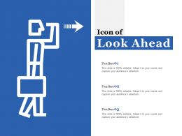 Icon Of Look Ahead