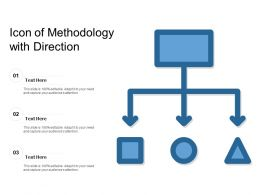 Icon Of Methodology With Direction