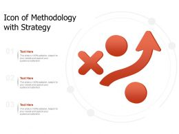 Icon Of Methodology With Strategy