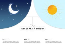 Icon Of Moon And Sun