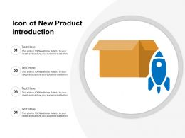 Icon Of New Product Introduction