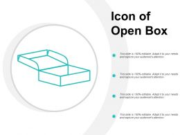 Icon Of Open Box
