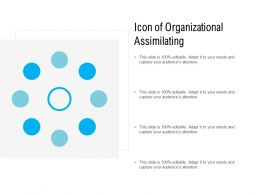 Icon Of Organizational Assimilating