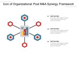 Icon Of Organizational Post Manda Synergy Framework