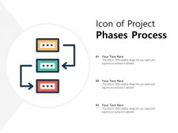 Icon Of Project Phases Process
