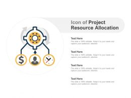 Icon Of Project Resource Allocation
